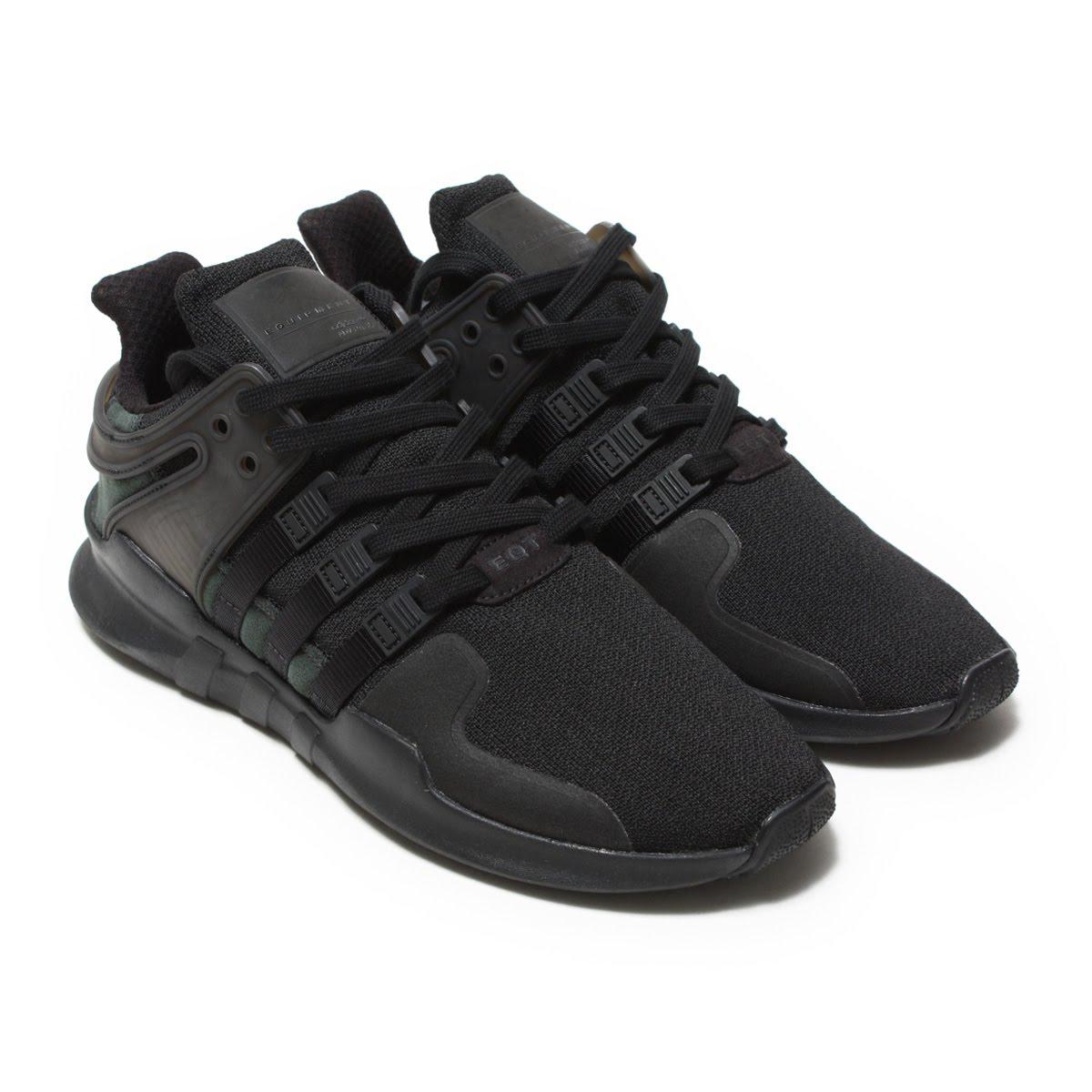adidas Originals EQT SUPPORT ADV (アディダス オリジナルス イーキューティー サポート ADV) Core Black/Core Black/Running White【メンズ レディース スニーカー】18SS-I