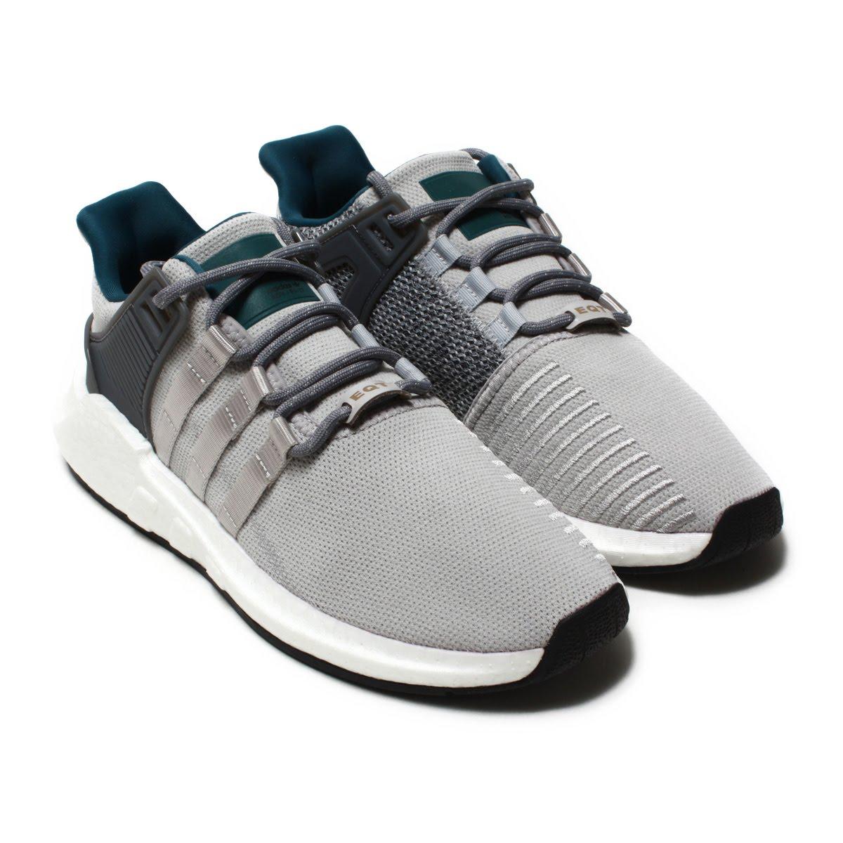 adidas Originals EQT SUPPORT 93/17 (アディダス オリジナルス イーキューティー サポート 93/17)Grey/Grey/Grey【メンズ スニーカー】18SS-I