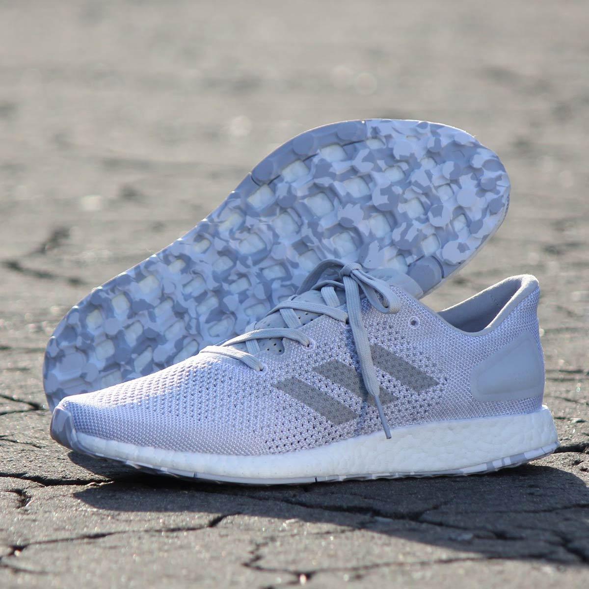adidas Originals PureBOOST DPR LTD (アディダス ピュアブースト DPR LTD)Running White/Mid Grey/Solid Grey【メンズ スニーカー】17FW-S