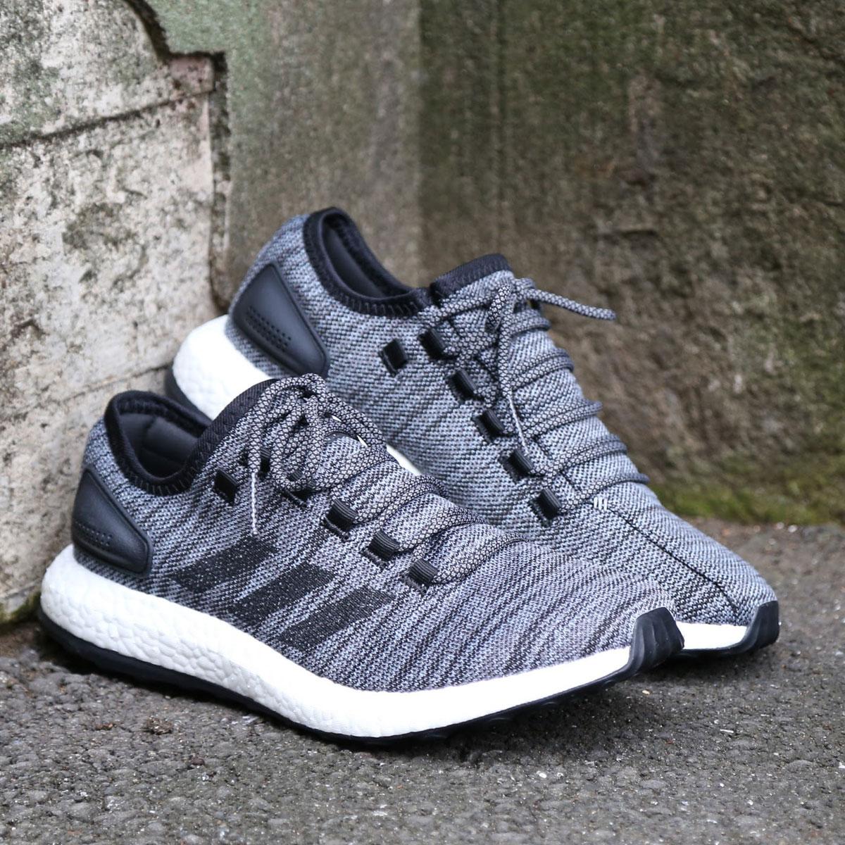 adidas Originals Pure BOOST ATR (アディダス オリジナルス ピュアブースト ATR) Core Black/Core Black/Grey Three【メンズ スニーカー】17FW-S