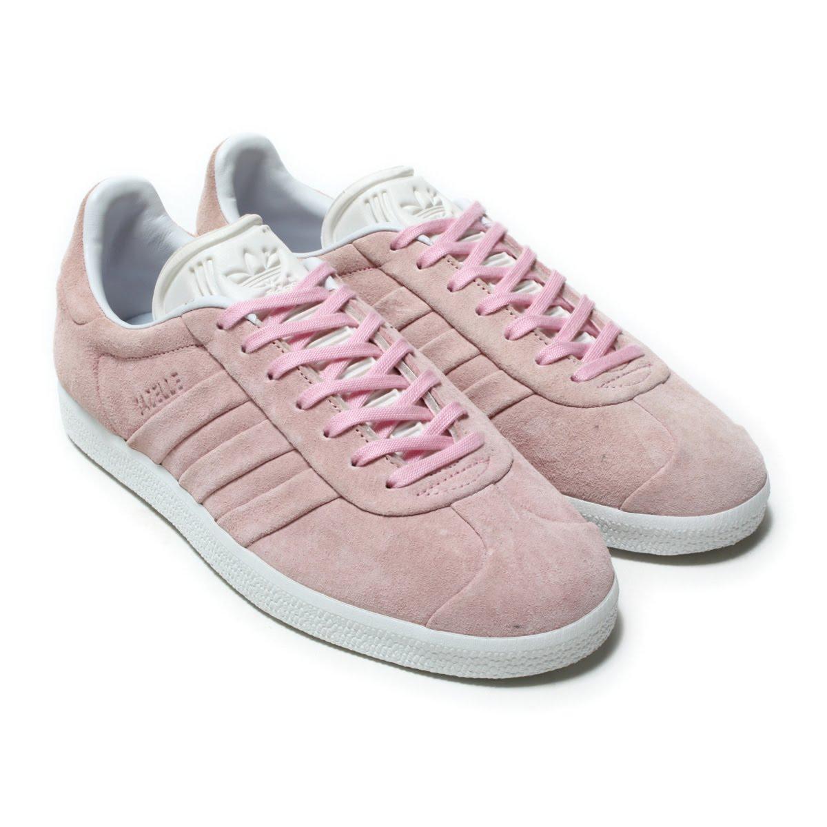 adidas Originals GAZELLE STITCH AND TURN W (アディダス オリジナルス ガゼル ステッチ アンド ターン W)Wonder Pink/Wonder Pink/Ftwr White【レディース スニーカー】18SS-S