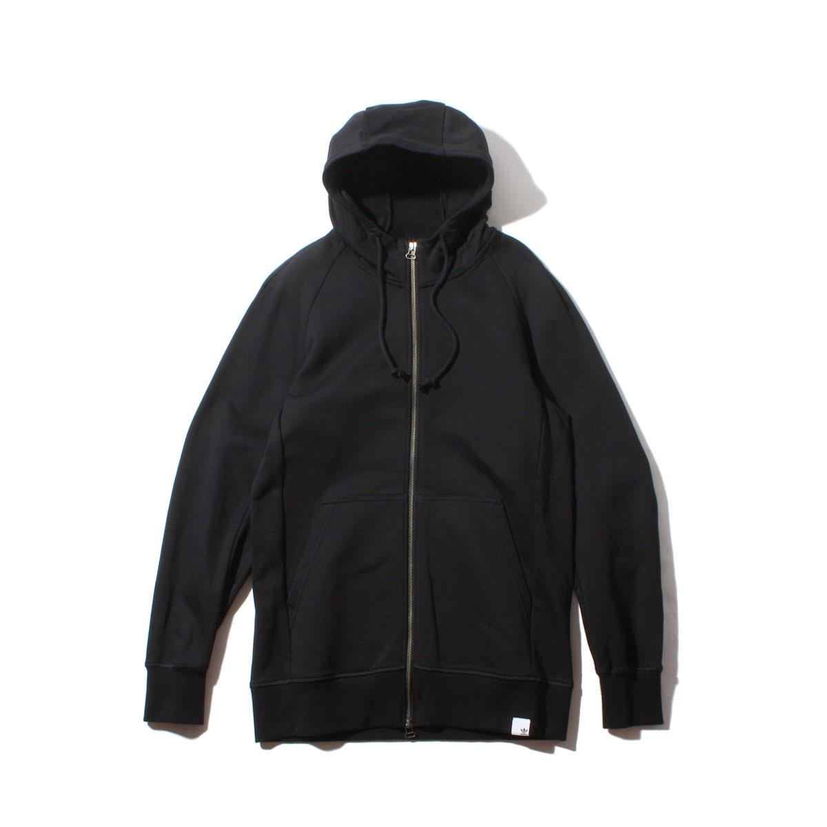 adidas Originals XBYO FULLZIP HOODIE(アディダス オリジナルス XBYO フルジップ フーディー)Black【メンズ パーカー】18SS-I