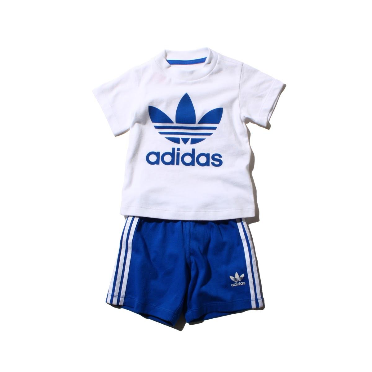 adidas Originals INFANT SHORT TEE SETアディダス オリジナルス インファント ショートwOy80vPmNn