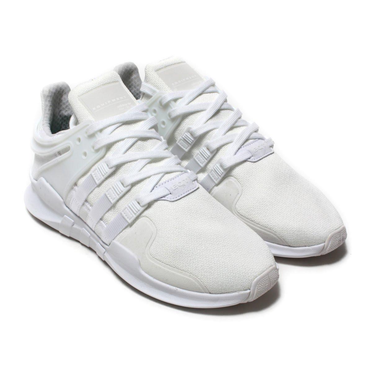 adidas Originals EQT SUPPORT ADV(アディダス オリジナルス イーキューティー サポート ADV)Running White/Running White/Core Black【メンズ レディース スニーカー】18SP-I