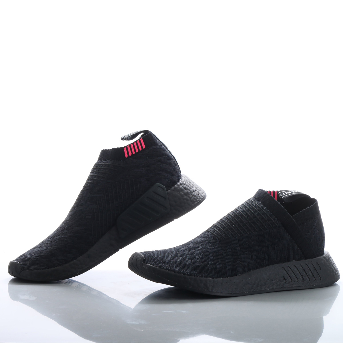 competitive price c5be0 c6305 adidas Originals NMD_CS2 PK (Adidas originals N M D CS2 PK) Core  Black/Carbon/Shock Pink 18SS-S