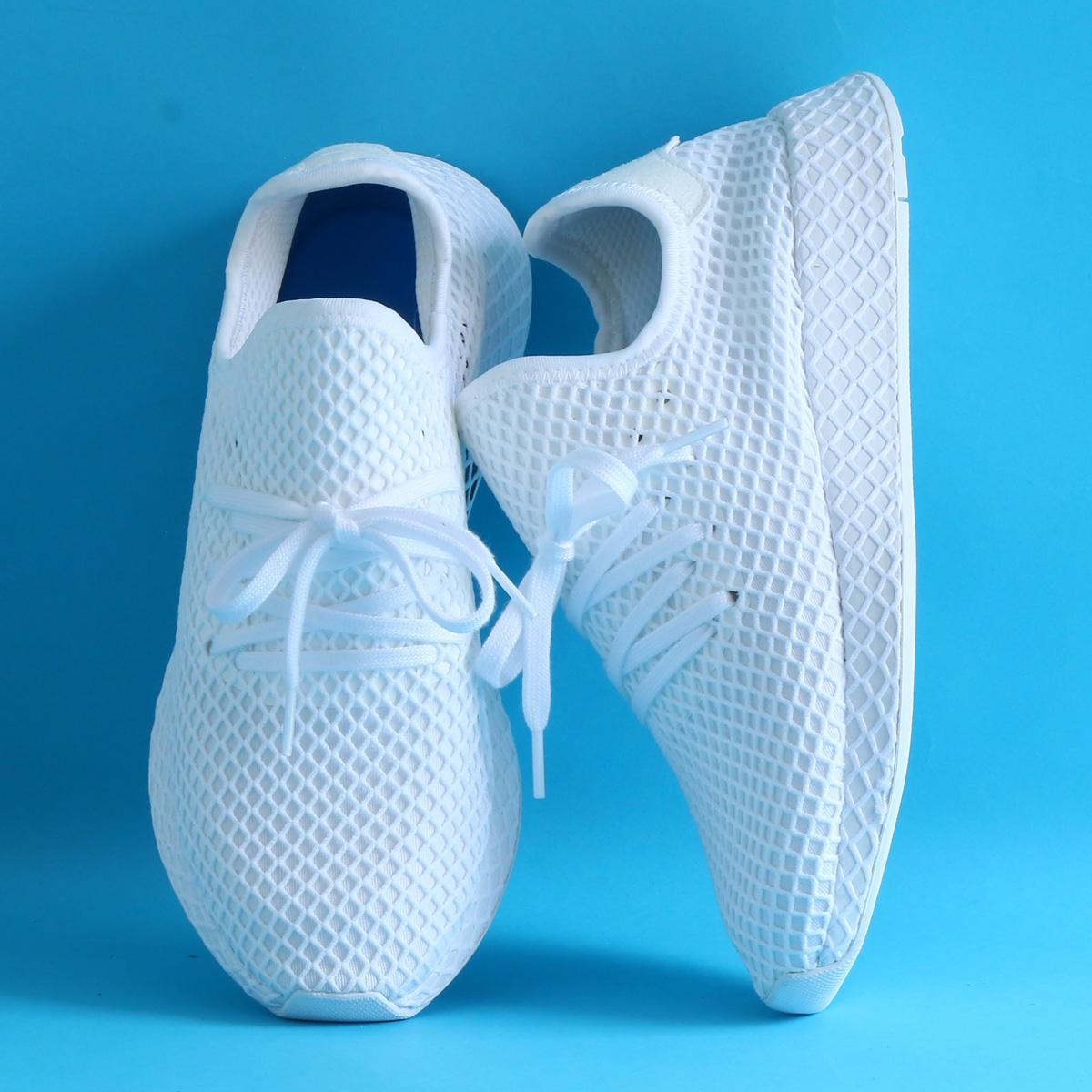 【激安セール】 adidas Originals ディーラプト DEERUPT DEERUPT RUNNER (アディダス オリジナルス ディーラプト ランナー)Running Originals White/Running White/Running White【メンズ レディース スニーカー】18SS-S, ショウボクチョウ:998478f7 --- canoncity.azurewebsites.net