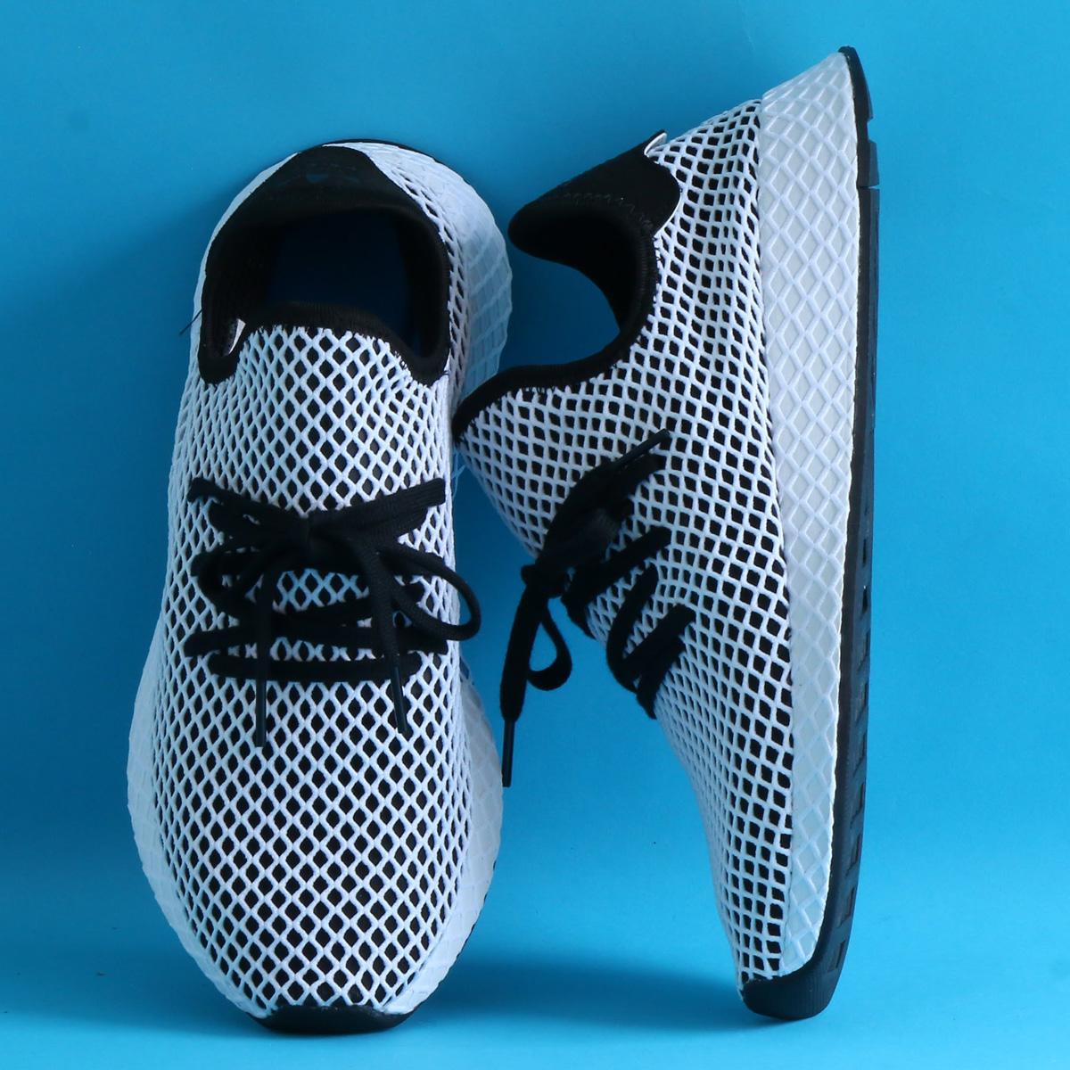 adidas Originals DEERUPT RUNNER (アディダス オリジナルス ディーラプト ランナー)Core Black/Core Black/Running White【メンズ レディース スニーカー】18SS-S
