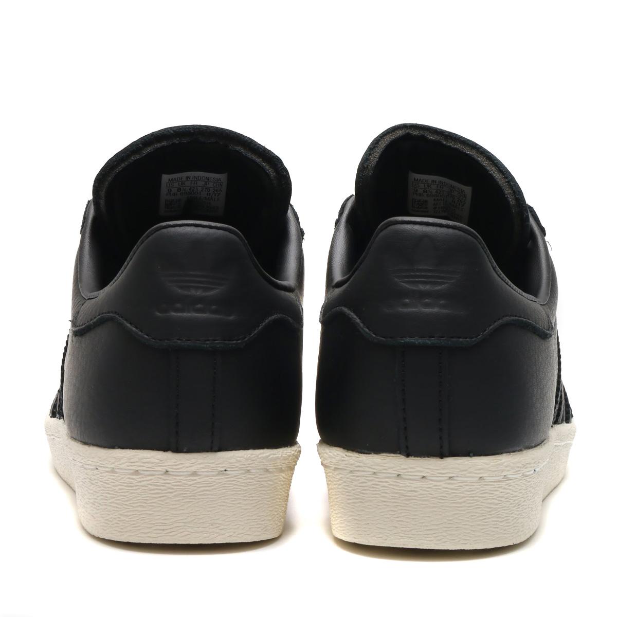adidas Originals SUPERSTAR 80s (Adidas originals superstar 80s) Core BlackGreenRed 18SS S