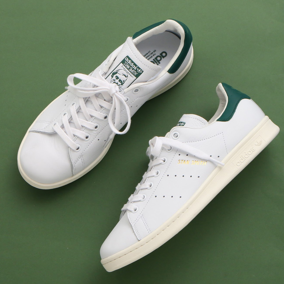 adidas Originals STAN SMITH (アディダス オリジナルス スタンスミス)Running White/Running White/Collegiate Green【メンズ レディース スニーカー】19SS-I
