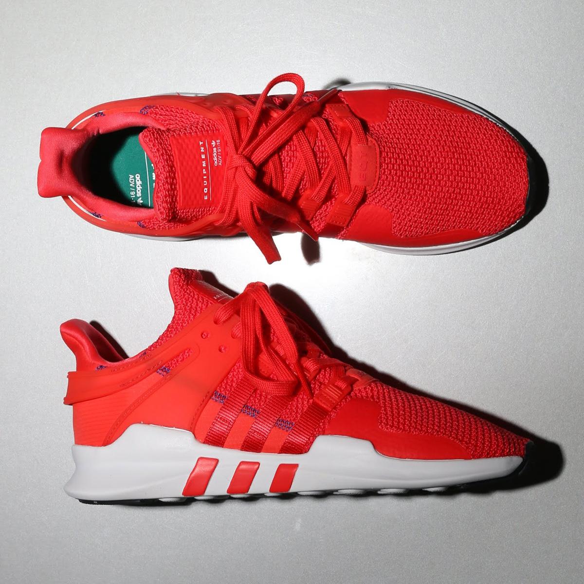 adidas Originals EQT SUPPORT ADV (アディダス オリジナルス イーキューティー サポート ADV) real coral/real coral/ftwr white【メンズ スニーカー】18SS-S