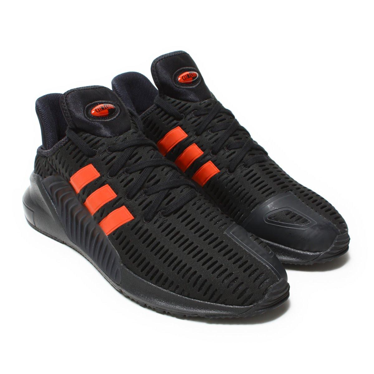 adidas Originals CLIMACOOL 02/17(アディダス オリジナルス クライマクール 02/17)CORE BLACK / HI-RES RED/CORE BLACK【メンズ スニーカー】18SS-S