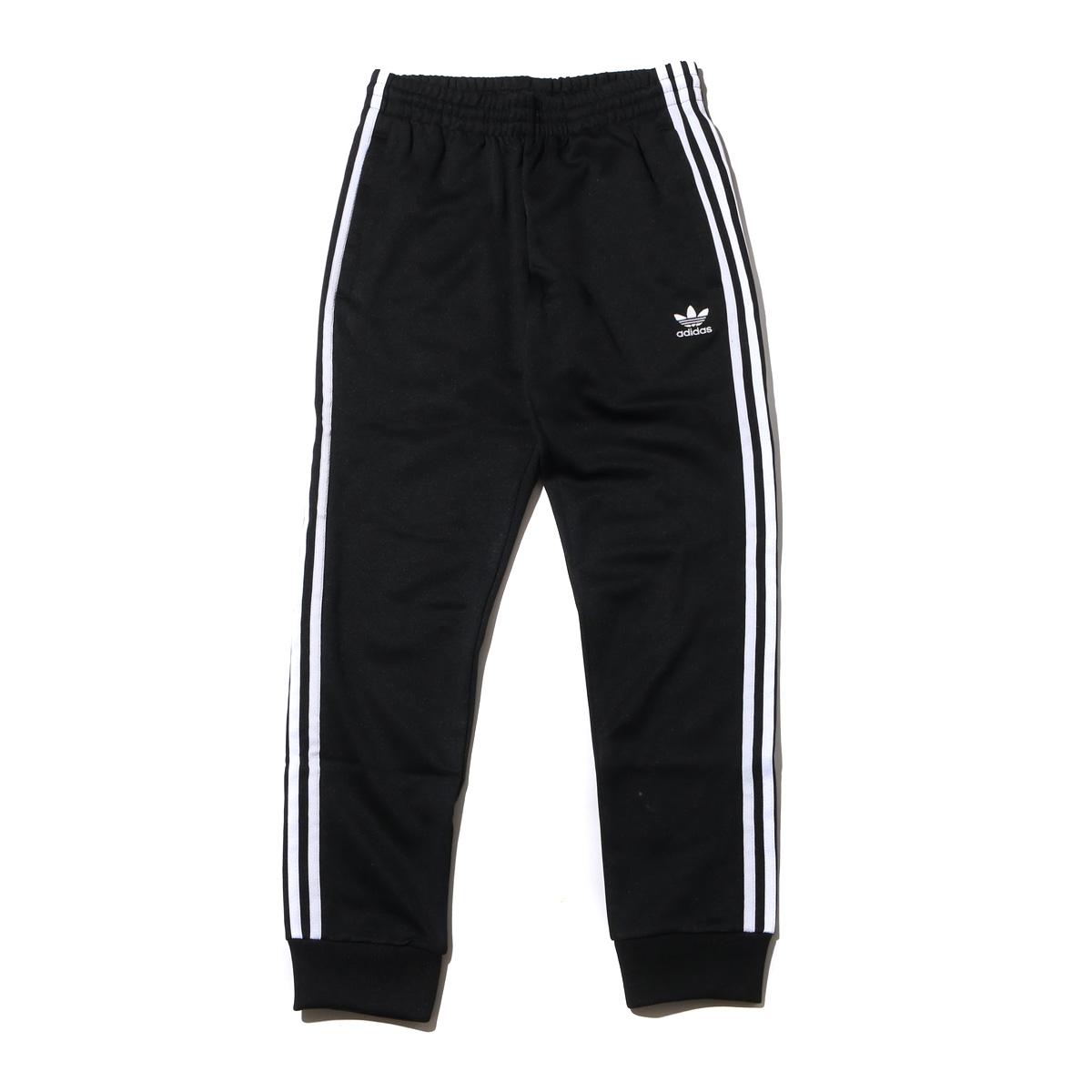 adidas Originals SST TRACK PANTS (アディダス オリジナルス SST トラックパンツ) Black【メンズ パンツ】19FW-I