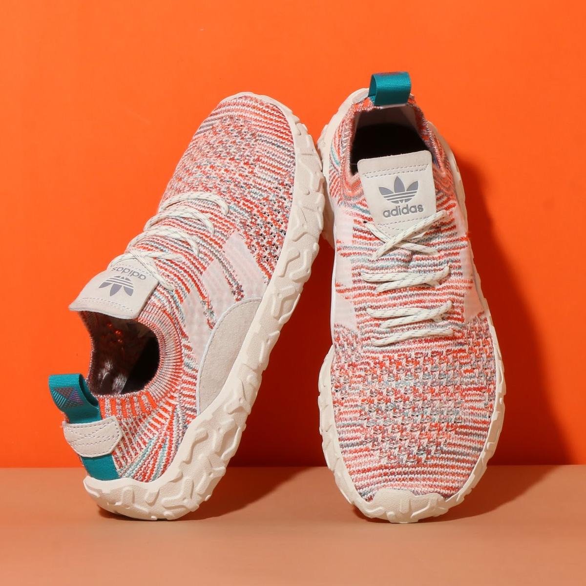 adidas Originals F/22 PK(アディダス オリジナルス F/22 PK)Trase Orange/Crystal White/Running White【メンズ スニーカー】18SS-I