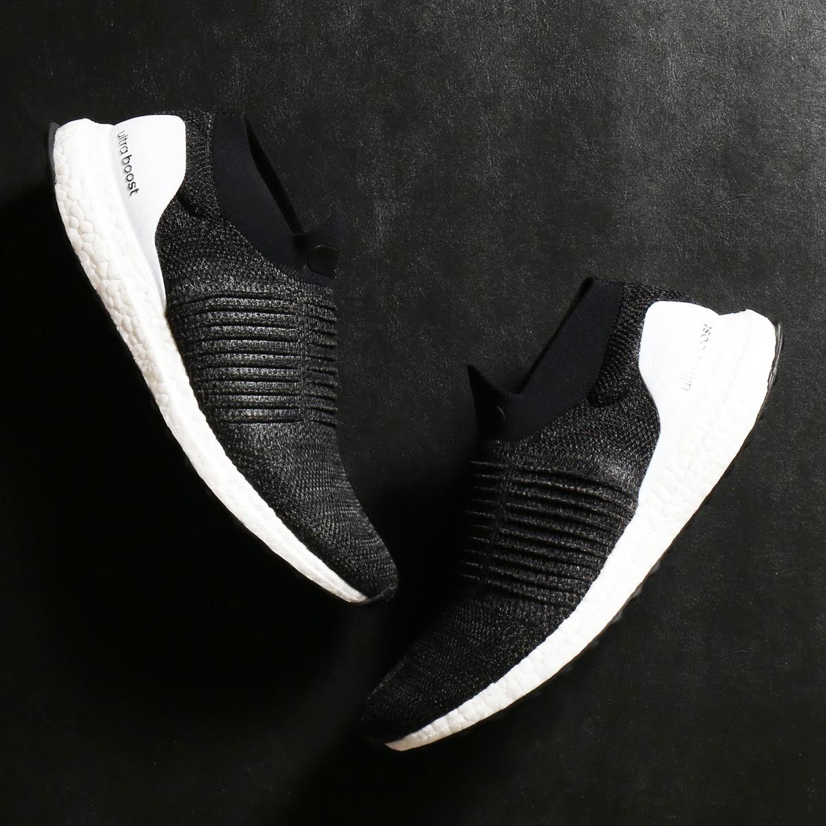 adidas UltraBOOST LACELESS (アディダス ウルトラブースト レースレス) Core Black/Core Black【メンズ スニーカー】18SS-S