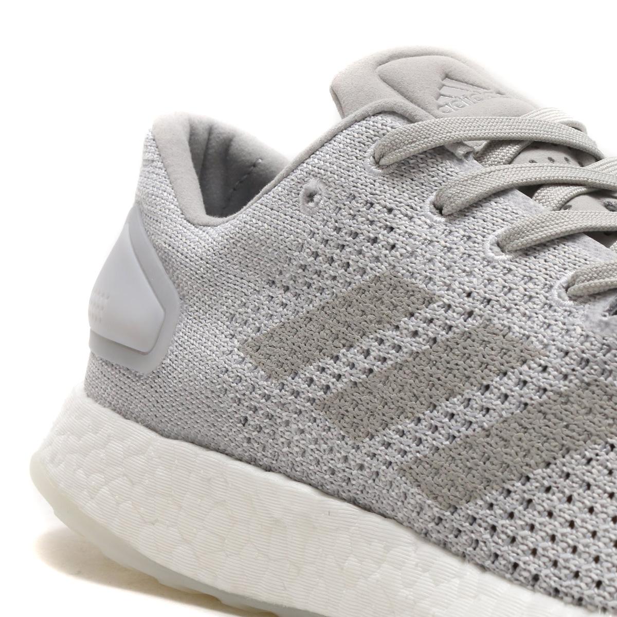 adidas Originals PureBOOST DPR LTD (Adidas originals pure boost DPR LTD) (gray TWO F17 gray TWO F17 running white) 18SS I