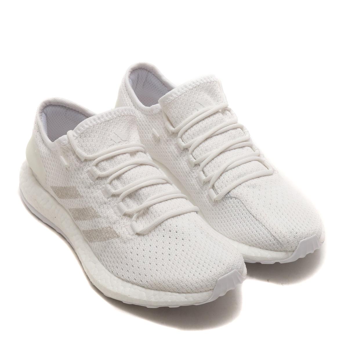 adidas PureBOOST CLIMA (アディダス ピュアブースト クライマ) Running White/Grey/Crystal White【メンズ スニーカー】18SS-S