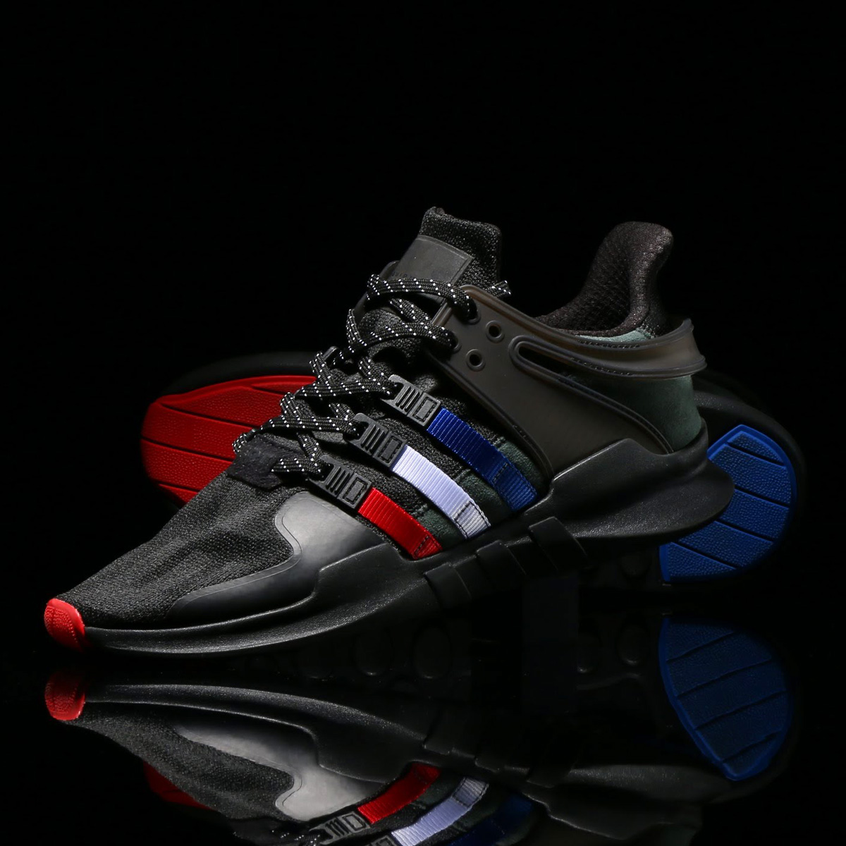 cheap for discount 2d3ed 4578c adidas EQT SUPPORT ADV ATMOS (Adidas E cue tea support ADV atto- MOS) Core  Black/Running White/Core Black 18SS-S