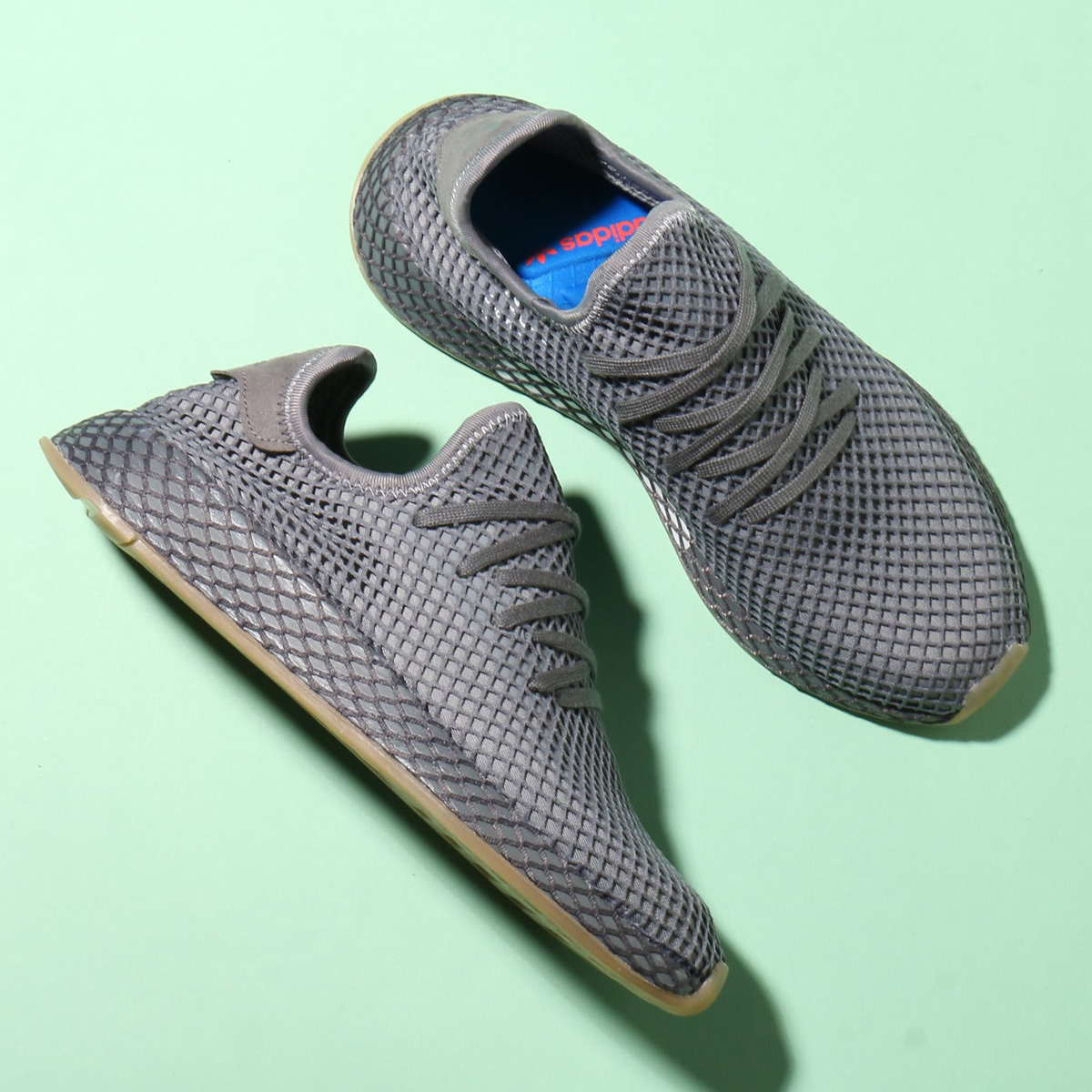 adidas Originals DEERUPT RUNNER (アディダス オリジナルス ディーラプト ランナー) Grey Three/Grey Four/Ftwr White【メンズ スニーカー】18SS-S