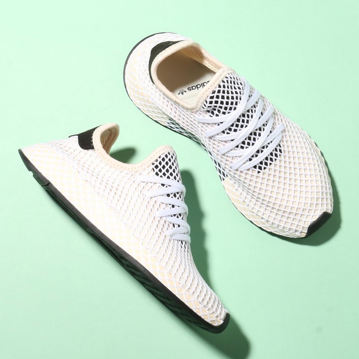 adidas Originals DEERUPT RUNNER W (アディダス オリジナルス ディーラプト ランナー W) Linen/Linen/Ecru Tint【レディース スニーカー】18SS-S