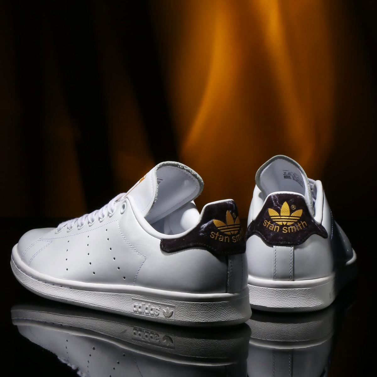 adidas Originals Stan Smith(アディダス オリジナルス スタンスミス)RUNNING WHITE/CORE BLACK/GOLD MET【メンズ レディース スニーカー】18FW-I