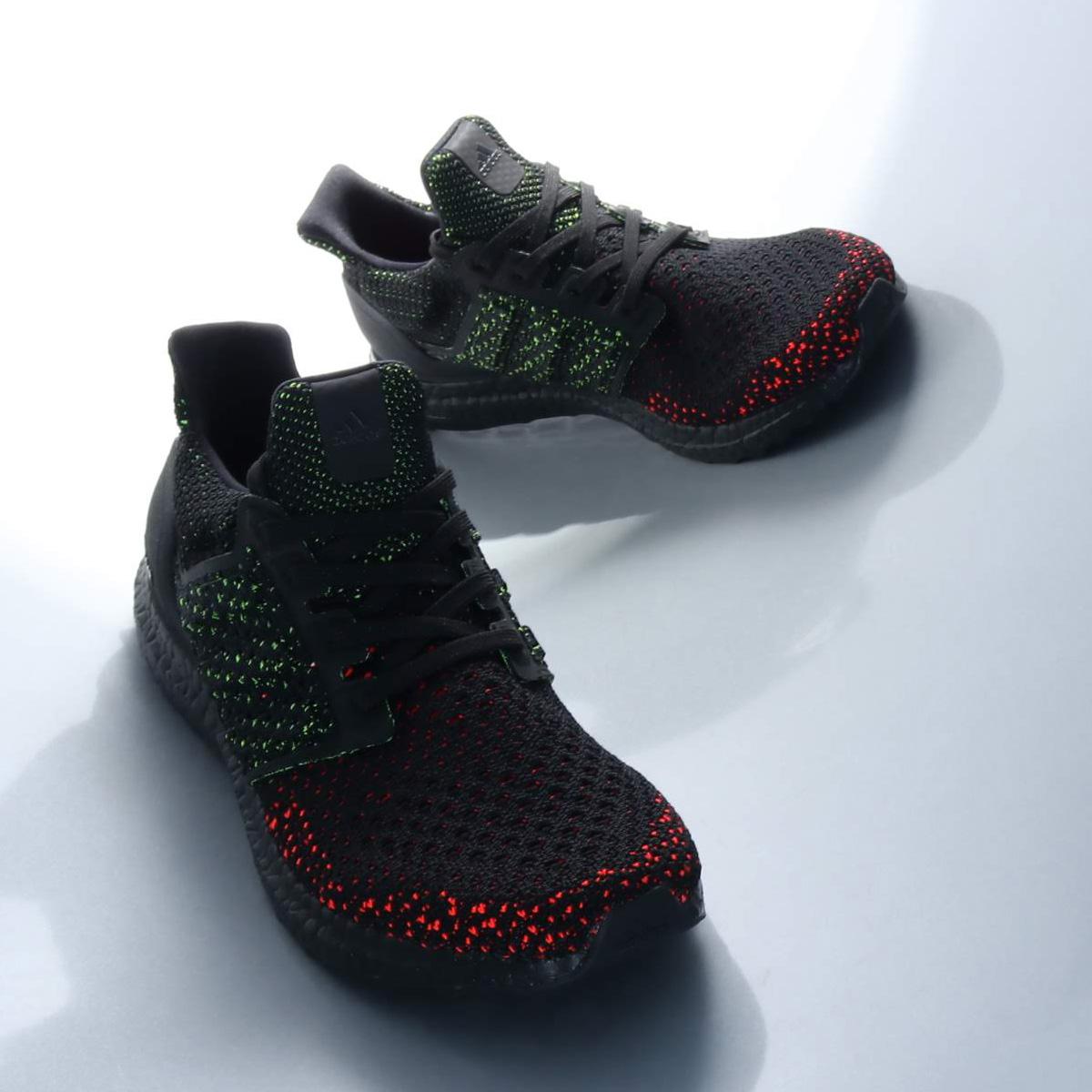 adidas UltraBOOST CLIMA(アディダス ウルトラブーストクライマ)Core Black/Core Black/Solar Red【メンズ スニーカー】18FW-I
