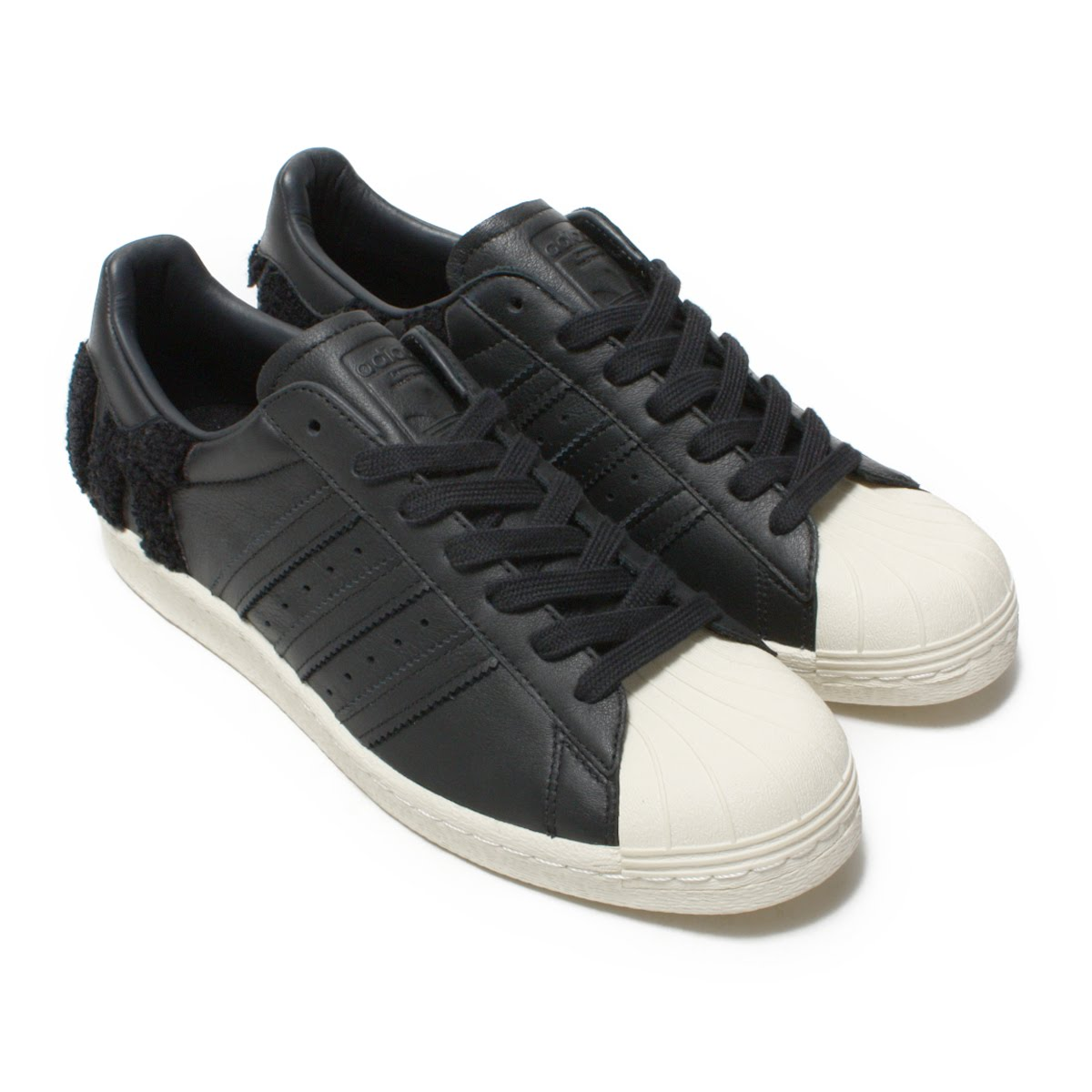 adidas Originals SUPERSTAR 80s(アディダス オリジナルス スーパースター80s)Core Black/Core Black/Off White【メンズ レディース スニーカー】18FW-I