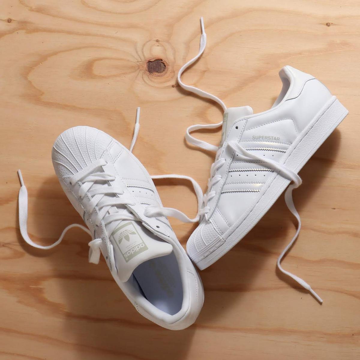 adidas SUPERSTAR W(アディダス スーパースターW)Running White/Running White/Grey One【メンズ レディース スニーカー】18FW-I