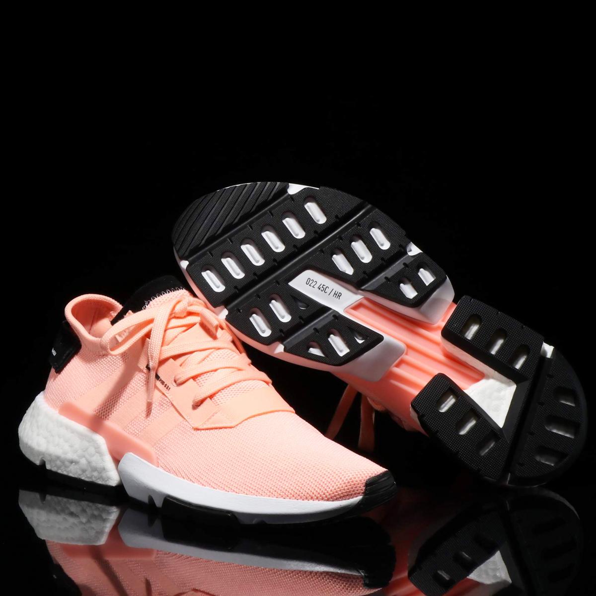 adidas Originals POD-S3.1(アディダス オリジナルス ピーオーディーS3.1)CLEAR ORANGE/CLEAR ORANGE/CORE BLACK【メンズ スニーカー】18FW-I