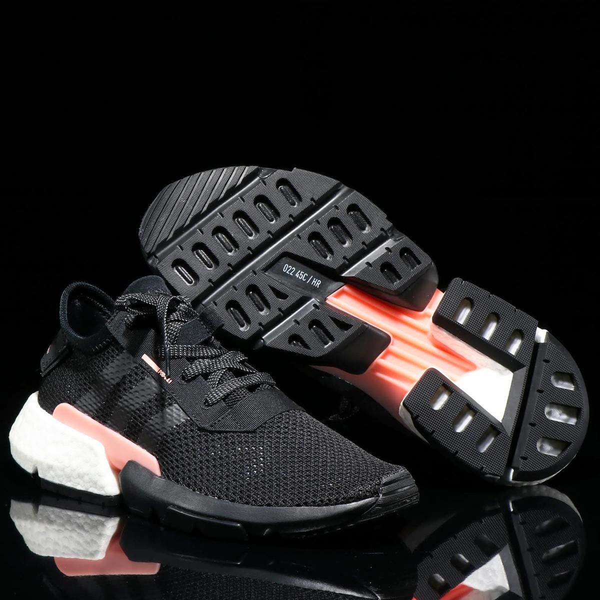 adidas Originals POD-S3.1(アディダス オリジナルス ピーオーディーS3.1)CORE BLACK/CORE BLACK/CLEAR ORANGE【メンズ スニーカー】18FW-I