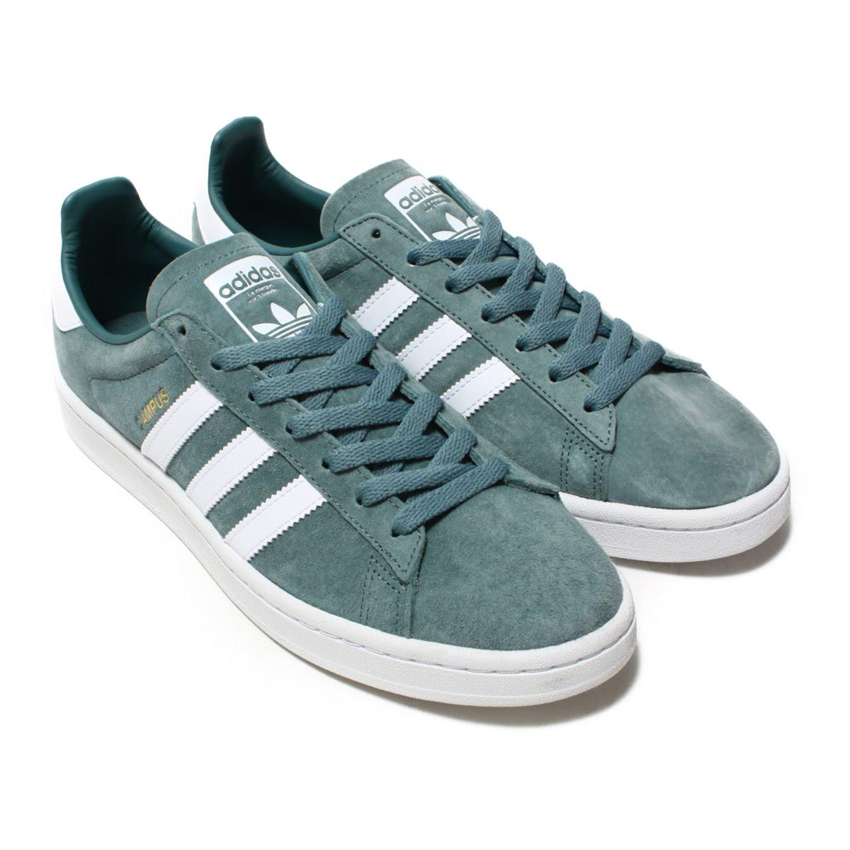 adidas CAMPUS (Adidas campus) Raw GreenRunning WhiteCrystal White 18FW I