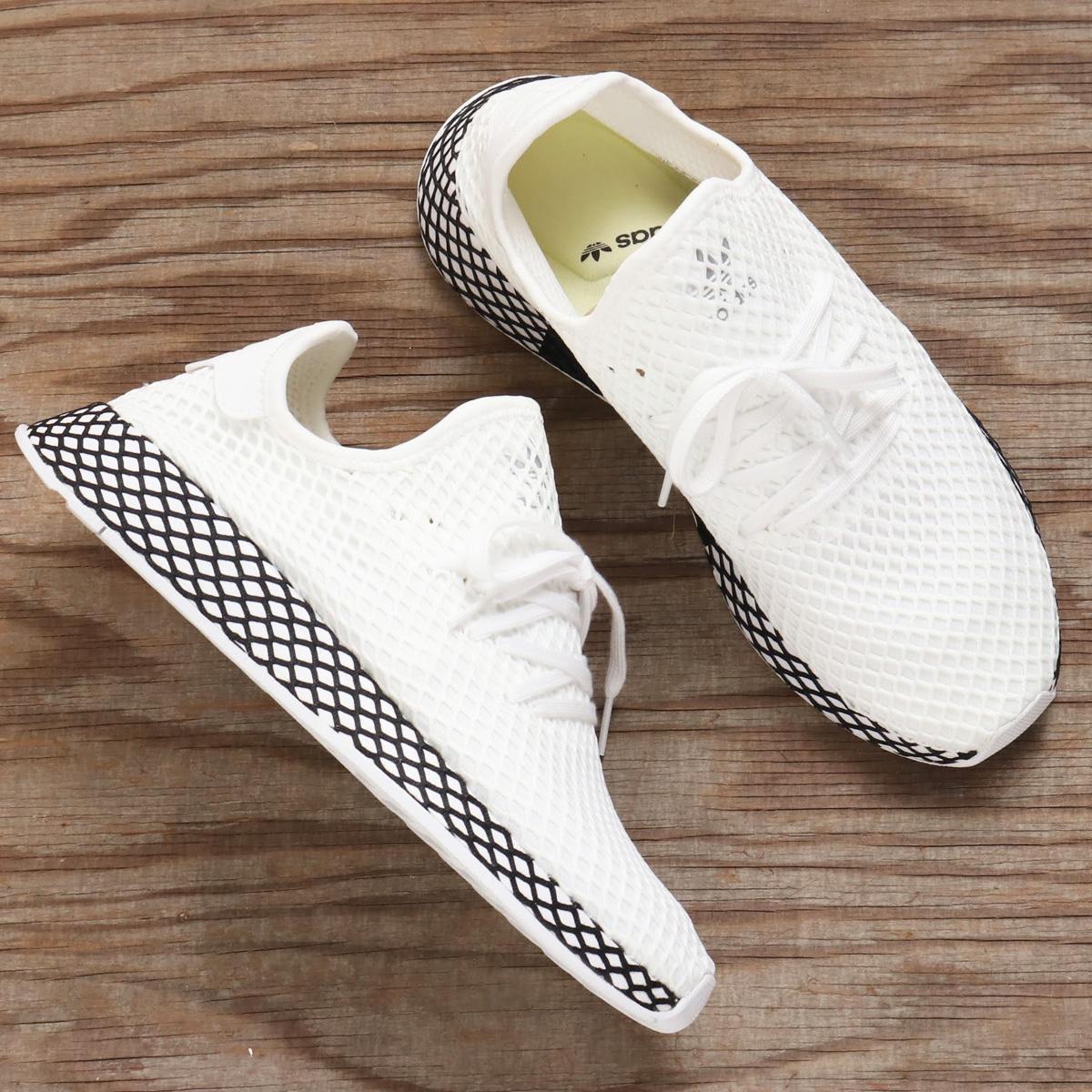64ef81113 adidas Originals DEERUPT RUNNER(アディダス オリジナルス WHITE RUNNING WHITE CORE BLACK メンズ  スニーカー 18FW-I ディラプトランナー)RUNNING-スニーカー