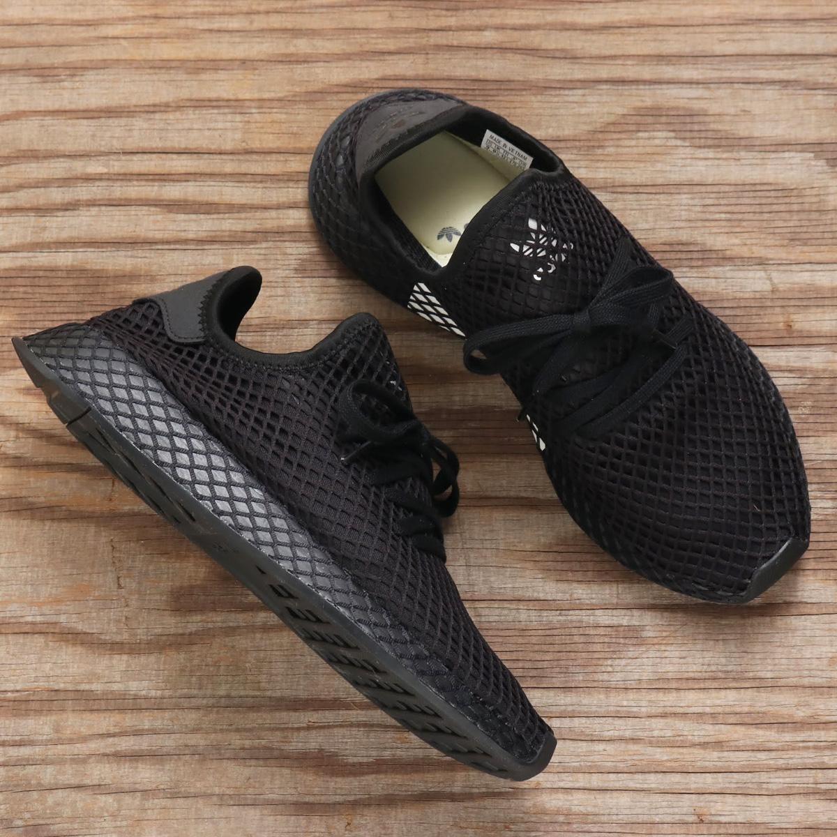 adidas Originals DEERUPT RUNNER(アディダス オリジナルス ディラプトランナー)CORE BLACK/CORE BLACK/RUNNING WHITE【メンズ スニーカー】18FW-I