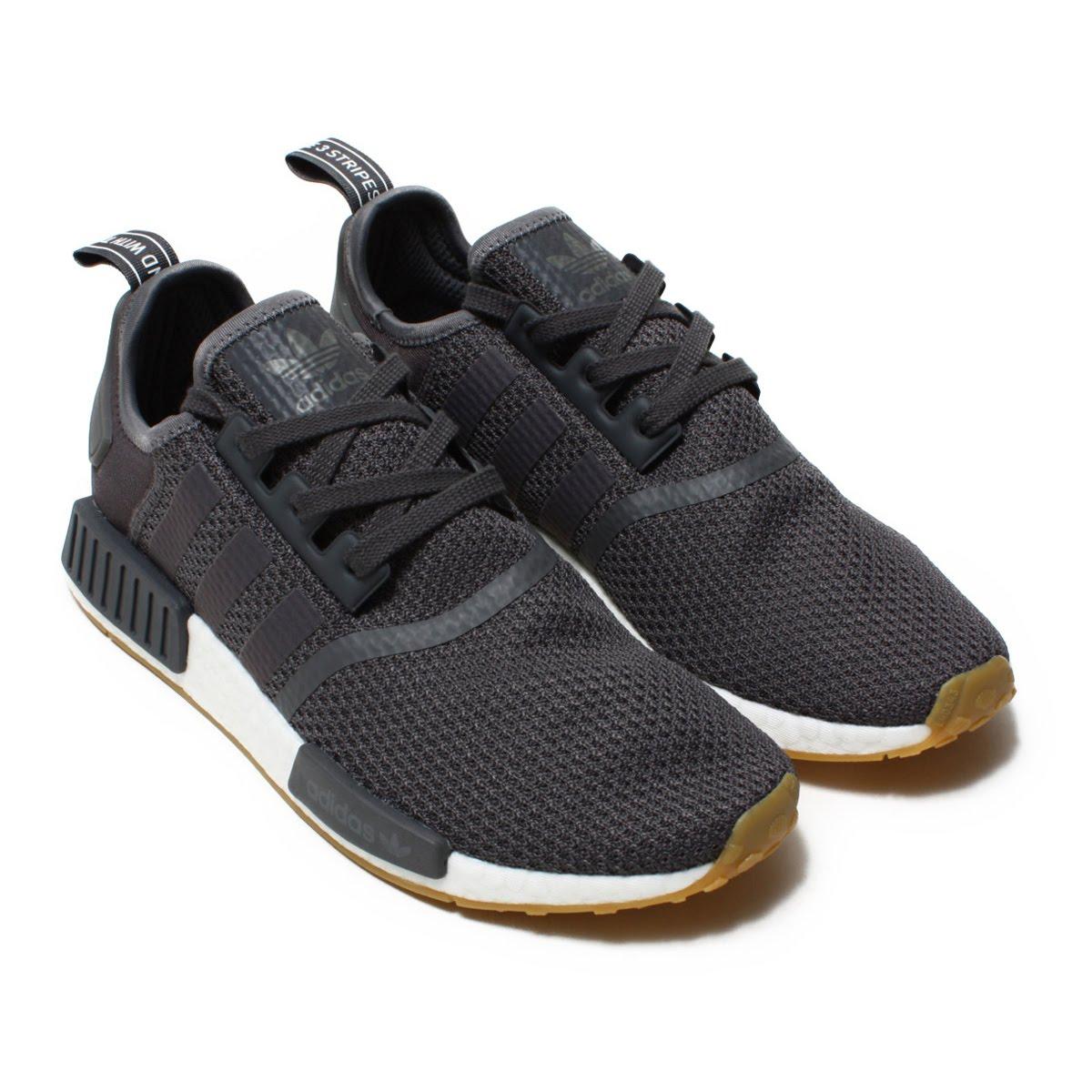 adidas NMD_R1(アディダス エヌエムディーR1)Grey/Grey/Core Black【メンズ スニーカー】18FW-I