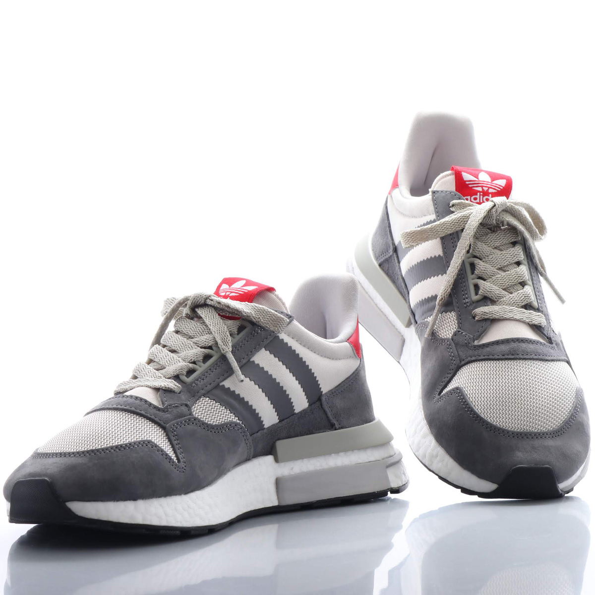adidas Originals ZX 500 RM(アディダス オリジナルス ZX 500 RM)GREY/RUNNING WHITE/SCARLET【メンズ スニーカー】18FW-I