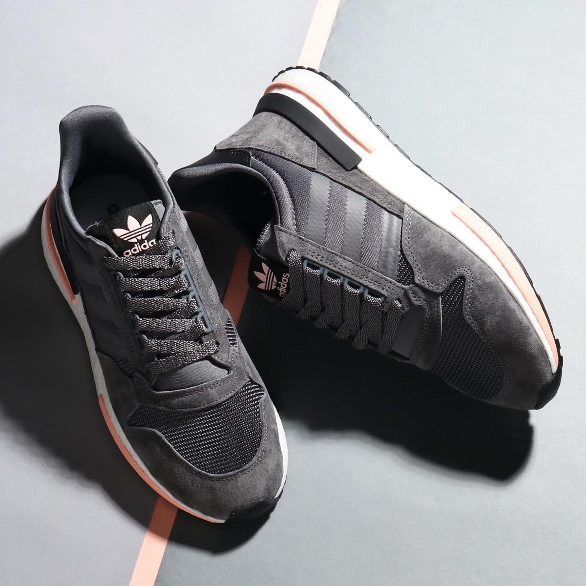 100%正規品 adidas Originals ZX 500 RM(アディダス オリジナルス ZX adidas 500 Five/Running RM)Grey ZX Five/Running White/Clear Orange【メンズ スニーカー】18FW-I, 西谷商店:06d75937 --- canoncity.azurewebsites.net