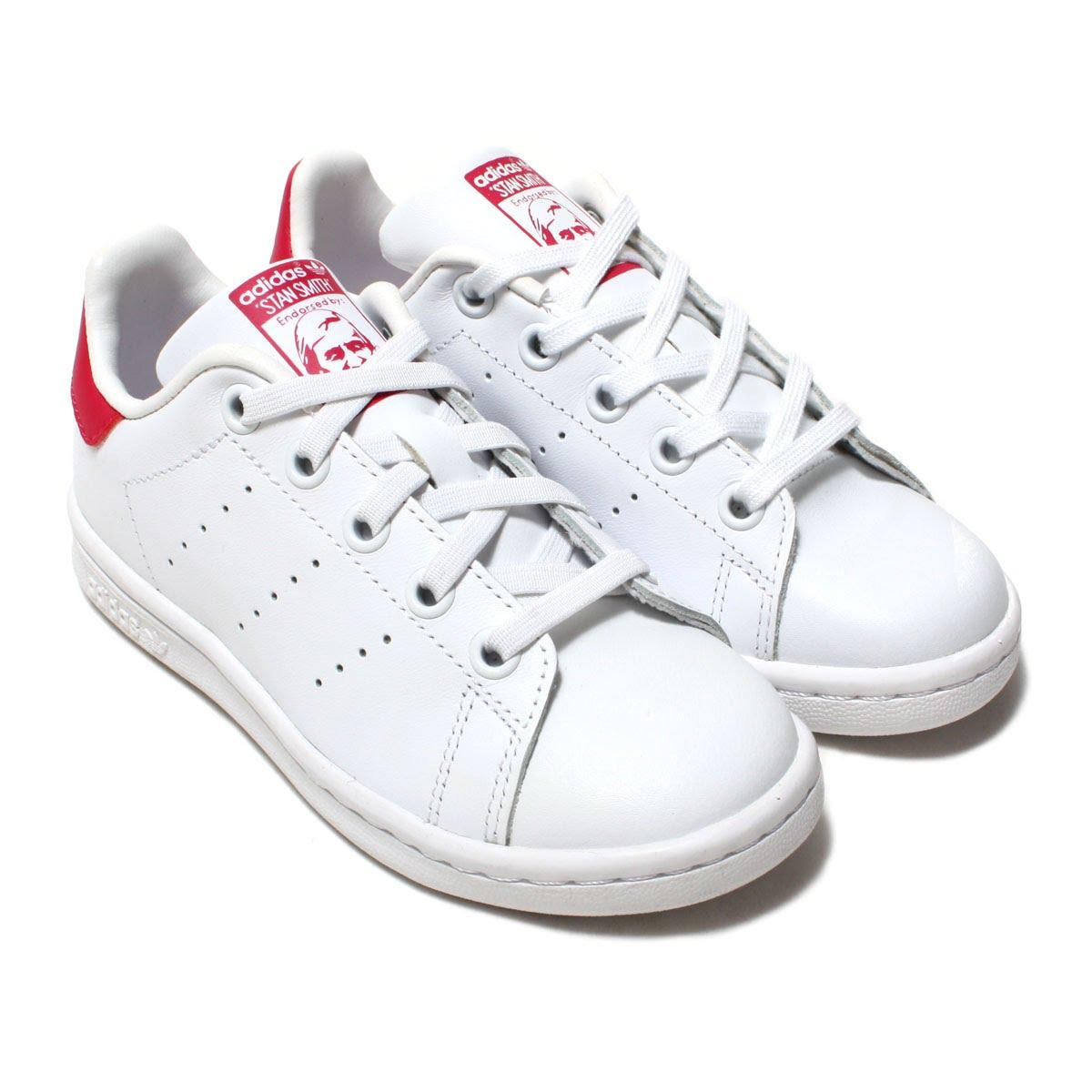 6ab6e15788b6b0 adidas Originals STAN SMITH EL C (adidas originals Stan Smith EL C) RUNNING  WHITE RUNNING WHITE BOLD PINK 16FW-I