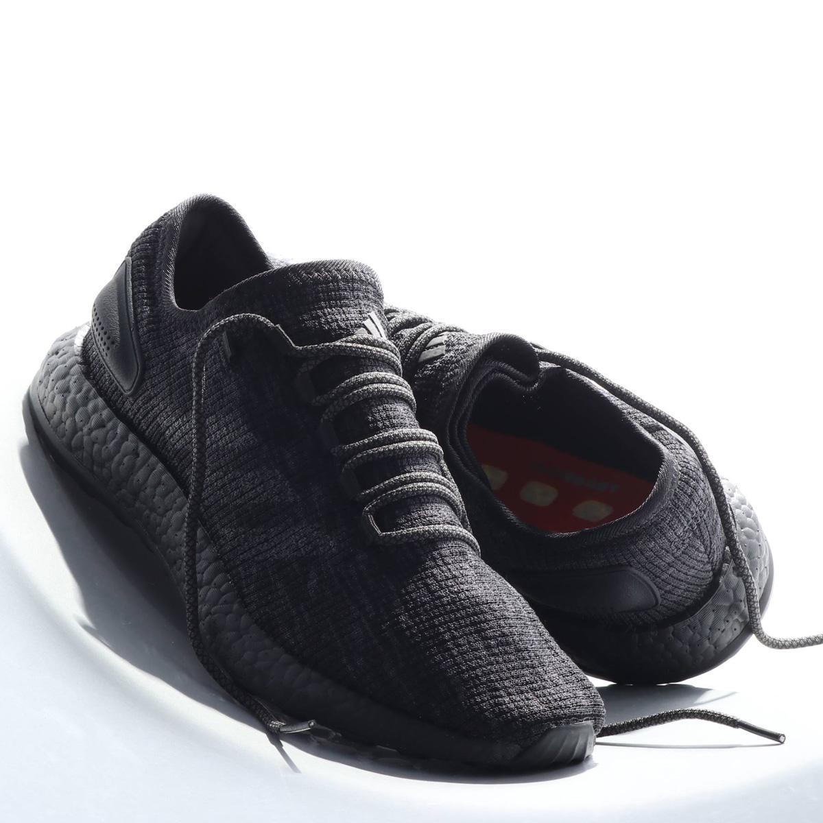 adidas PureBOOST(アディダス ピュアブースト)CORE BLACK / DGH SOLID GREY / HI-RES ORANGE【メンズ スニーカー】18FW-I