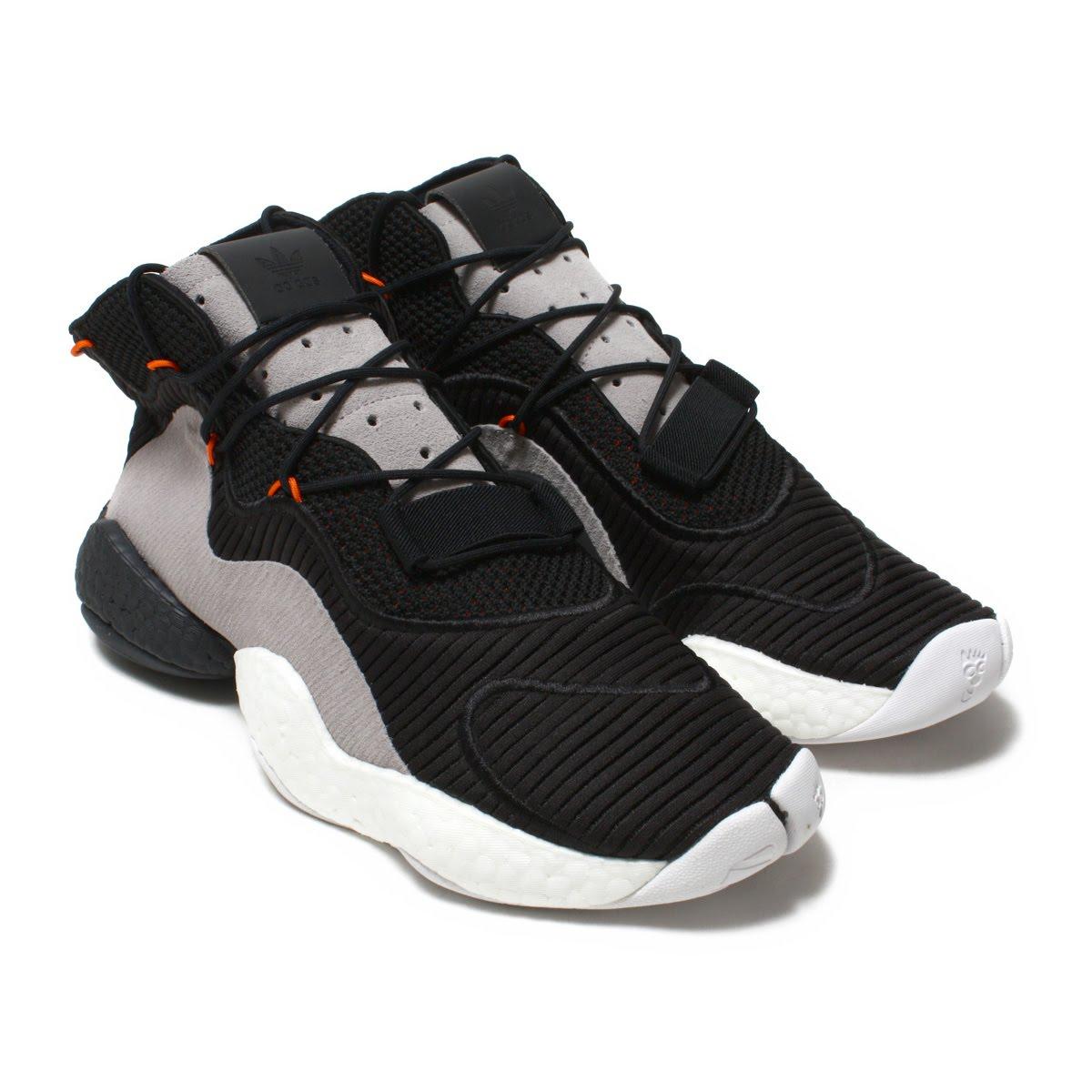 adidas Originals CRAZY BYW(アディダス オリジナルス クレイジー BYW)CORE BLACK/ORANGE/HI-RES RED【メンズ スニーカー】18FA-I