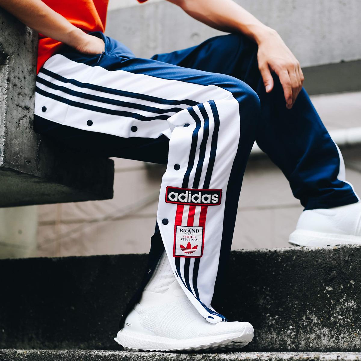 adidas Originals ADIBREAK OG TRACK PANTS(アディダス オリジナルス アディブレイクOGトラックパンツ)COLLEGE NAVY【メンズ パンツ】18FW-I