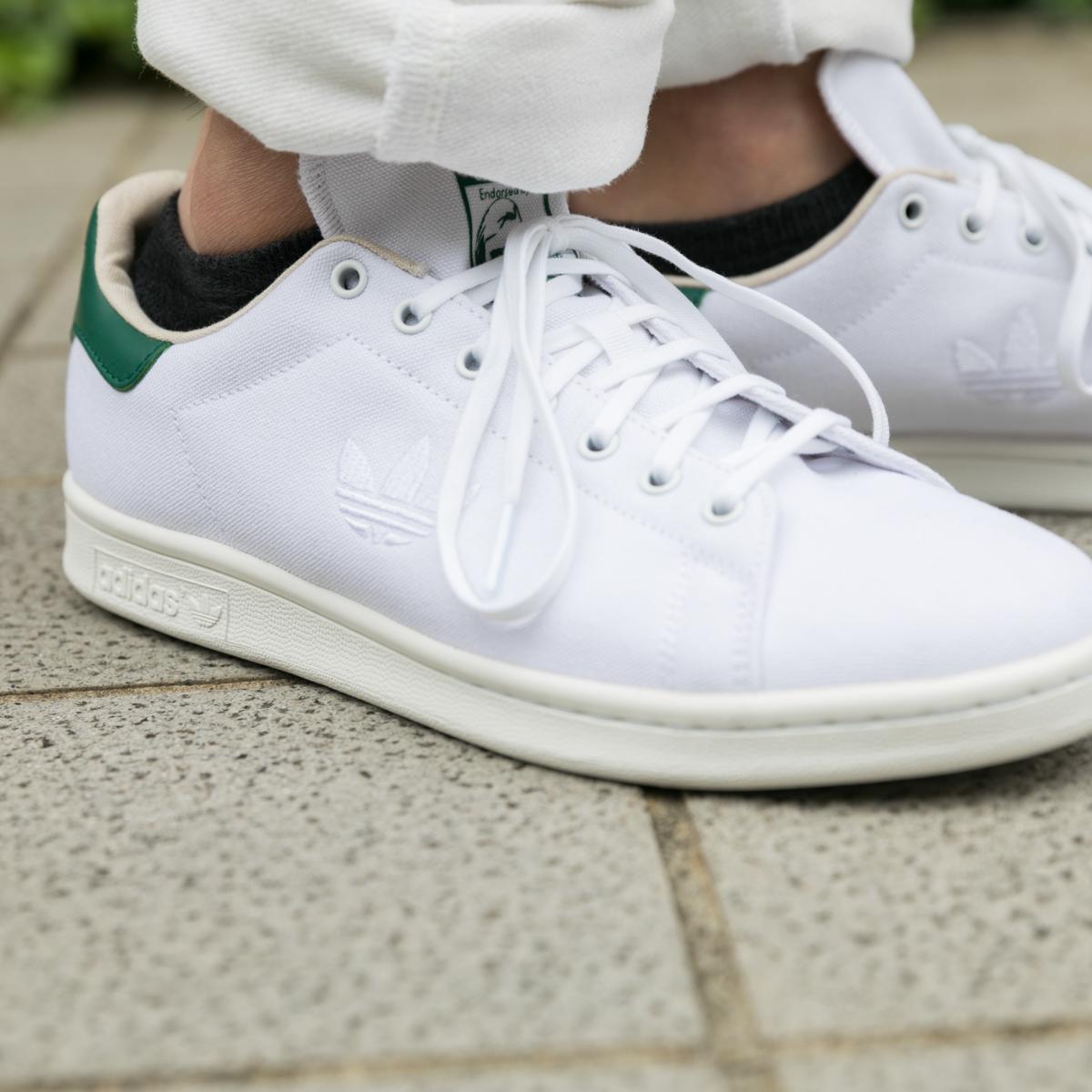 adidas Originals Stan Smith(アディダス オリジナルス スタンスミス)Running White/Running White/Collegeate Green【メンズ レディース スニーカー】18FW-I