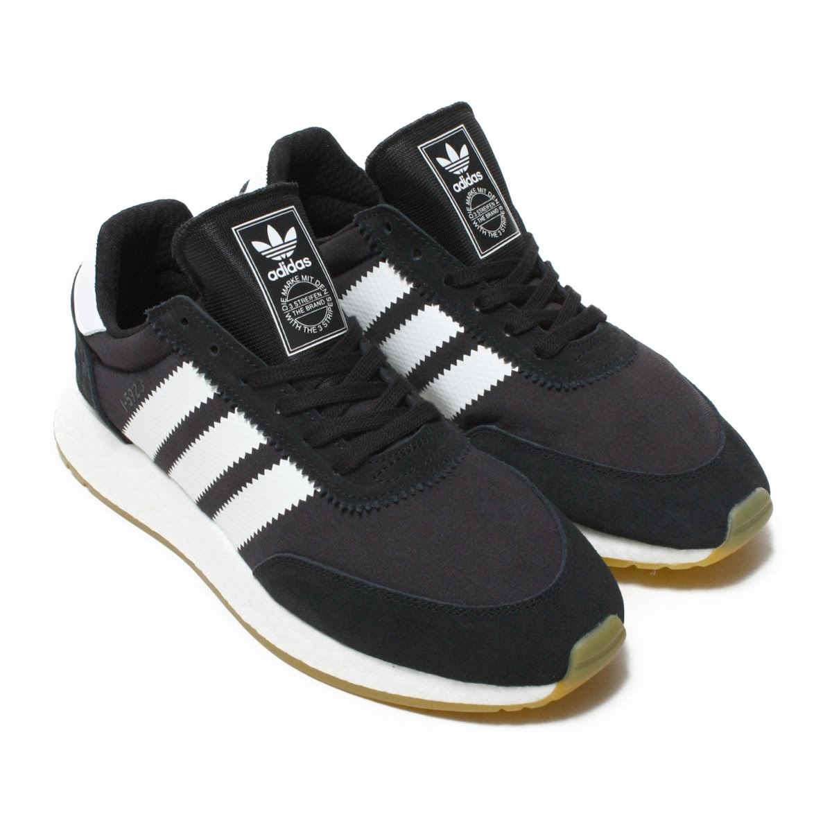 adidas Originals I-5923(アディダス オリジナルス I-5923)Core Black/Running White/Gum【メンズ スニーカー】18FW-I