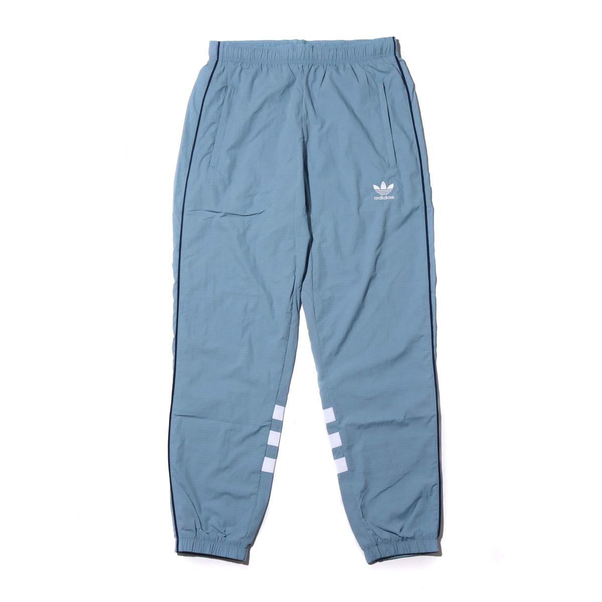 adidas Originals AUTH RIPSTOP TRACK PANTS(アディダス オリジナルス AUTHリップストップトラックパンツ)RAW GREY【メンズ ジャケット】18FW-I