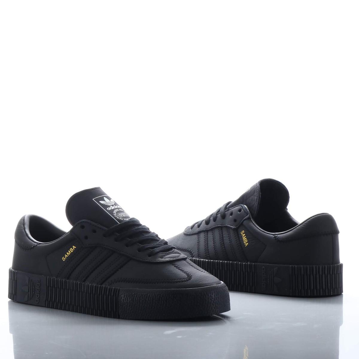 adidas Originals SAMBAROSE W(アディダス オリジナルス サンバローズW)CORE BLACK/CORE BLACK/CORE BLACK【メンズ レディース スニーカー】18FW-I