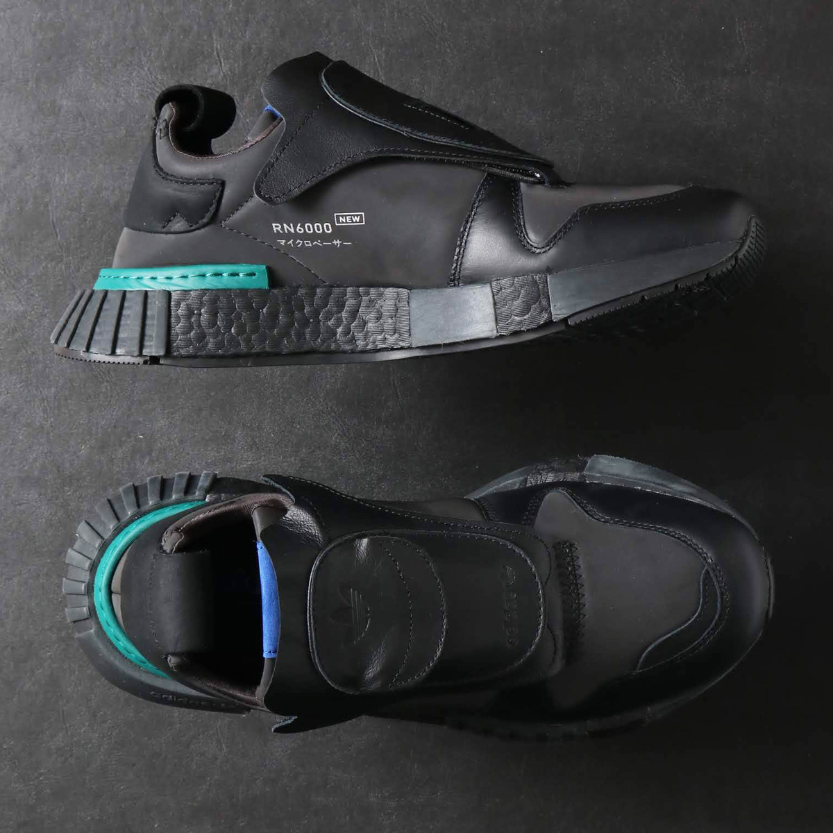 adidas Originals FUTUREPACER (アディダスオリジナルス フューチャーペーサー) CORE BLACK/CARBON/RUNNING WHITE【メンズ スニーカー】18FW-S