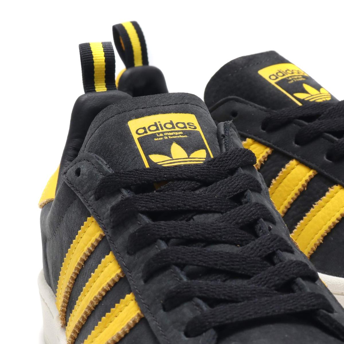 adidas Originals Campus Core Black EQT Yellow Chalk White