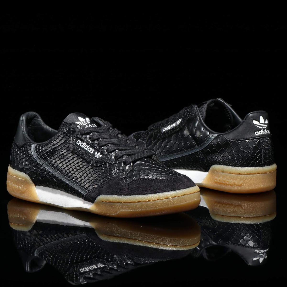 adidas Originals CONTINENTAL 80(アディダス オリジナルス コンチネンタル80)CORE BLACK/CARBON/GREY【メンズ レディース スニーカー】18FW-I