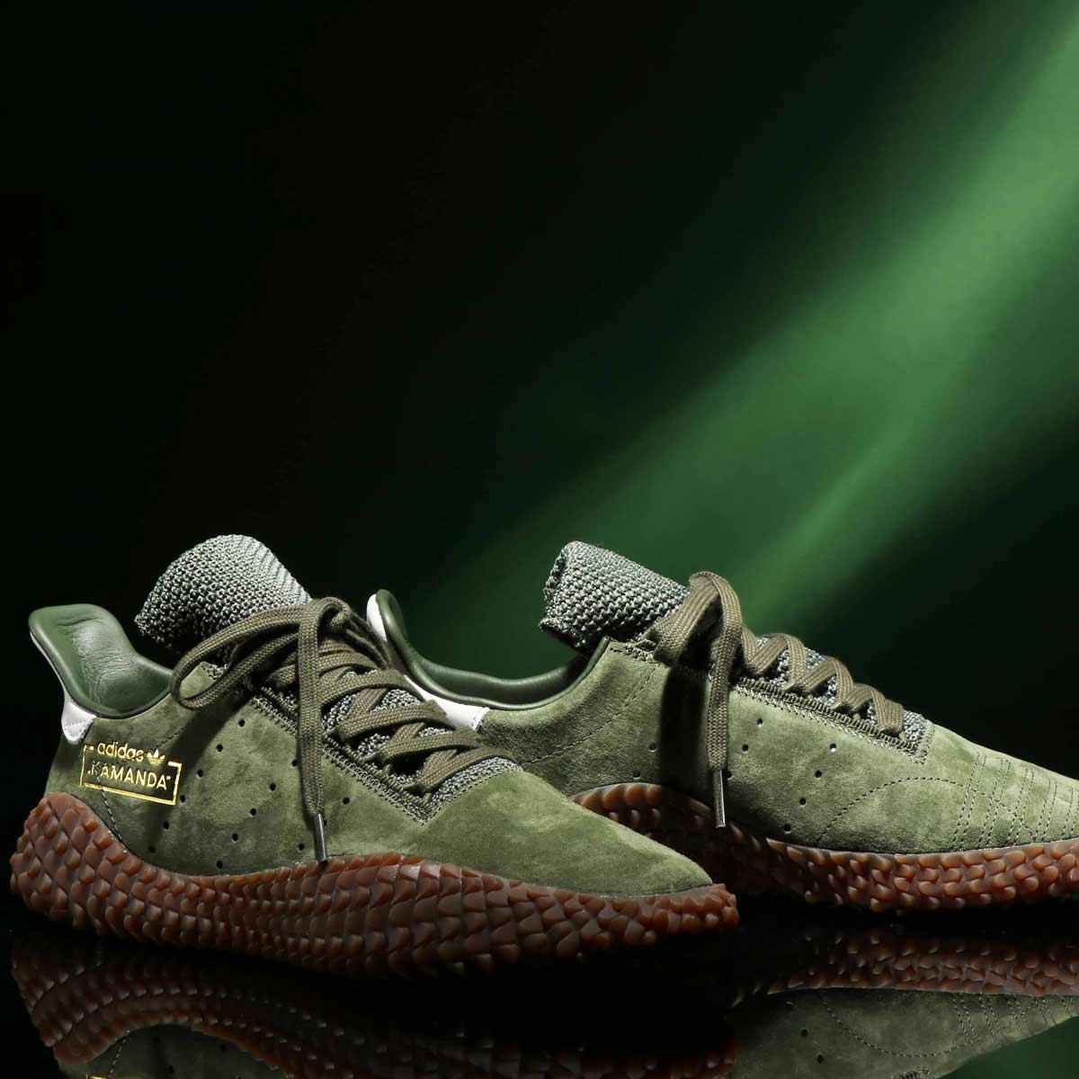adidas Originals KAMANDA 01(アディダス オリジナルス カマンダ01)BASE GREEN/ASE GREEN/CRYSTAL WHITE【メンズ レディース スニーカー】18FW-S