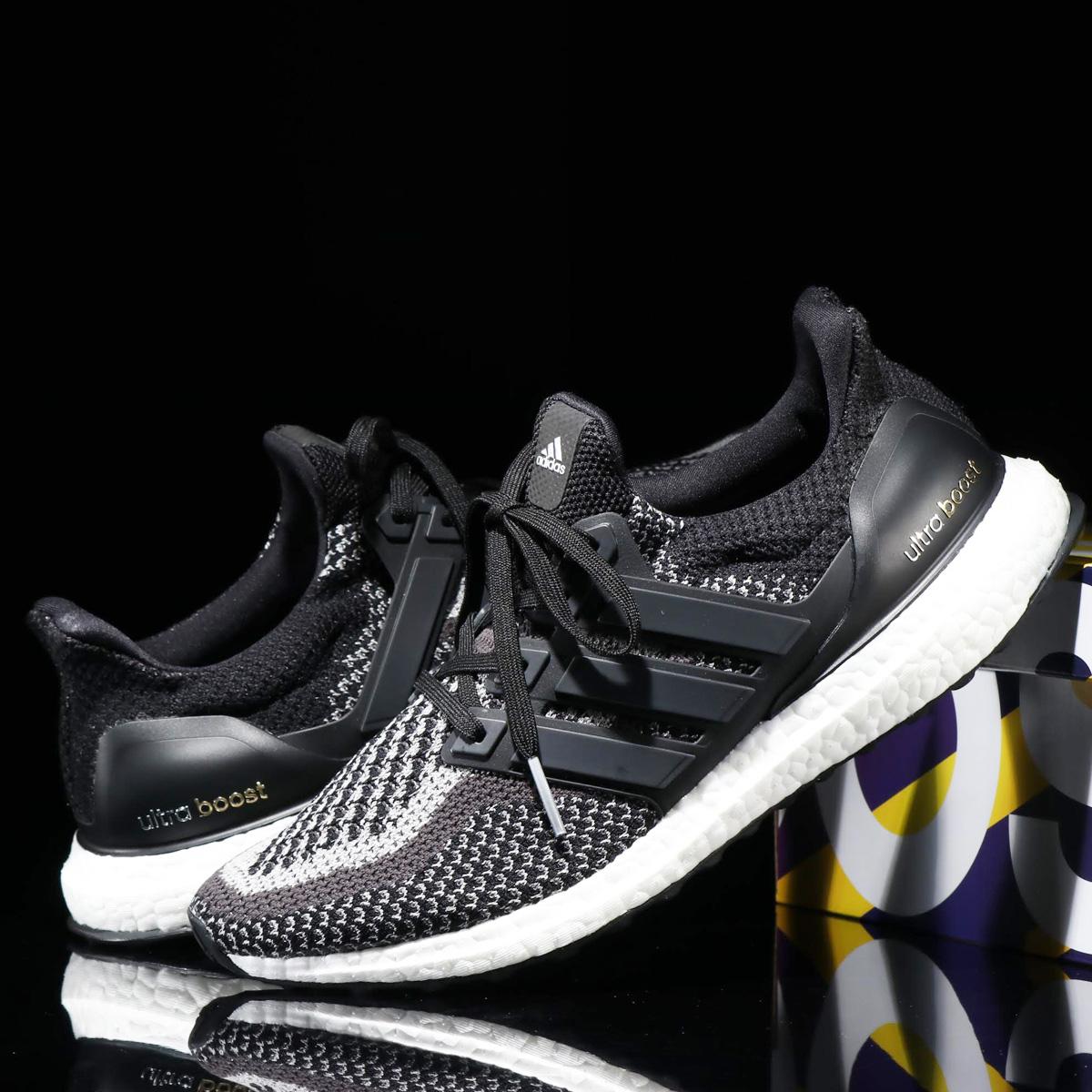 adidas UltraBOOST Ltd Glow (アディダス ウルトラブースト Ltd グロー)CORE BLACK/CORE BLACK/CORE BLACK
