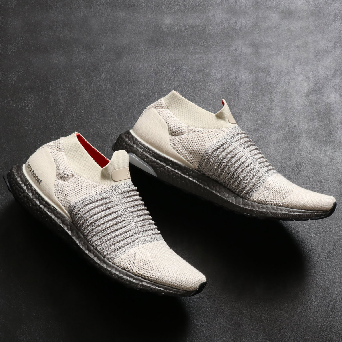 adidas UltraBOOST LACELESS (Adidas ultra boost race reply) CLEAR BROWNCLOUD WHITECARBON 18FW I
