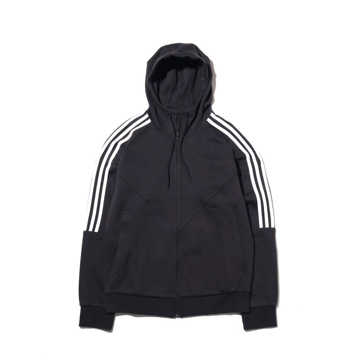 adidas Originals NMD FZ HOODIE(アディダス オリジナルス エヌエムディーFZフーディー)BLACK【メンズ パーカー】18FW-I